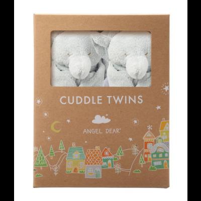 Angel Dear Angel Dear: Cuddle Twins Grey Elephant
