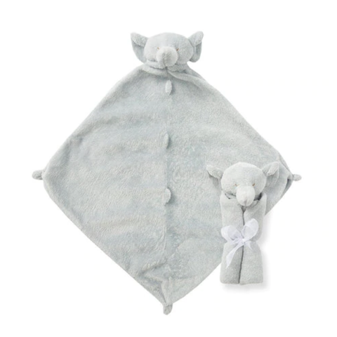 Angel Dear: Cuddle Twins Grey Elephant