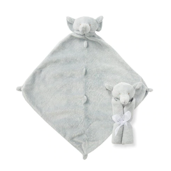 Angel Dear Angel Dear: Cuddle Twins Grey Elephant