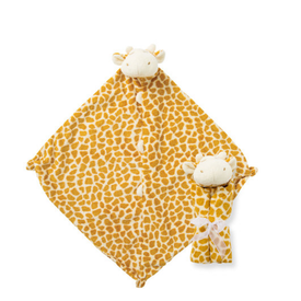Angel Dear Angel Dear: Cuddle Twins Giraffe Blankie Tan