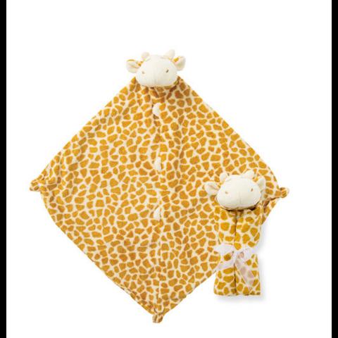Angel Dear: Cuddle Twins Giraffe Blankie Tan