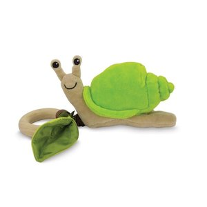 Apple Park Apple Park: Crawling Critter Teething Toy-Snail