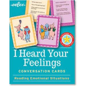 eeBoo eeBoo: I Heard Your Feelings Flashcards
