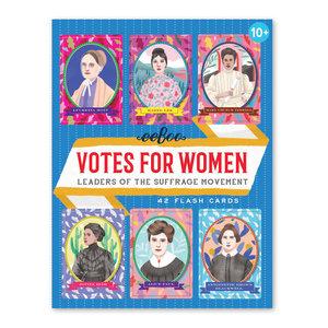 eeBoo eeBoo:Votes for Women Flashcards