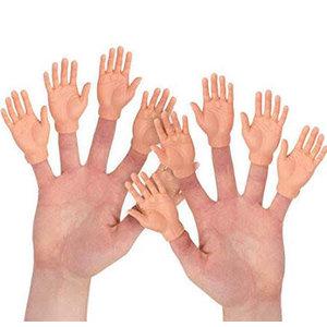 Archie McPhee Archie McPhee: Finger Hands Puppet