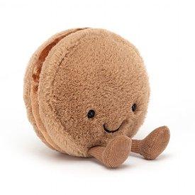 JellyCat Jellycat: Amuseables Macaron Chocolate