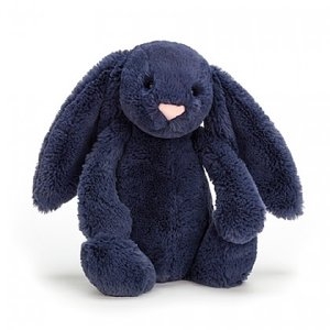 JellyCat JellyCat: Bashful Navy Bunny - Medium