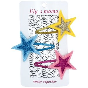 Lily and Momo Lily and Momo: Galaxy Star Trio Hair clip Pastels