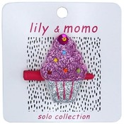 Lily and Momo Lily and Momo: Cutie Cupcake- Silver and Pink