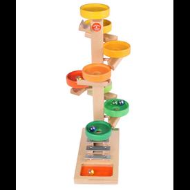 Beck-Spielwaren Beck-Spielwaren: Tellerturm Bunt