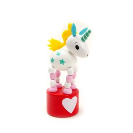 House of Marbles HoM: Unicorn Press Up