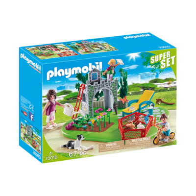 Playmobil Playmobil: SuperSet Family Garden