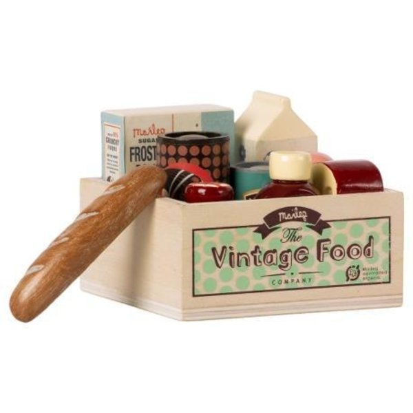 Maileg Maileg: Vintage Food/Grocery Box