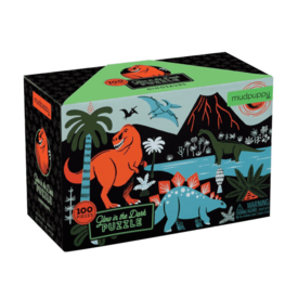 Mudpuppy Mudpuppy: Glow Dinosaur Puzzle