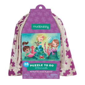 Mudpuppy Mudpuppy: Mermaids To Go Puzzle