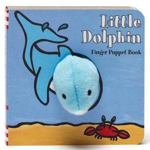 Chronicle Chronicle: Little Dophin Finger Puppet Book
