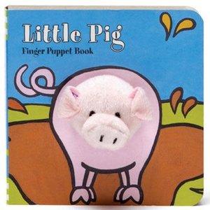Chronicle Chronicle: Little Pig Finger Puppet Book