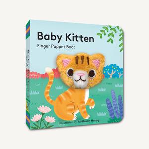 Chronicle Chronicle: Baby Kitten Finger Puppet Book