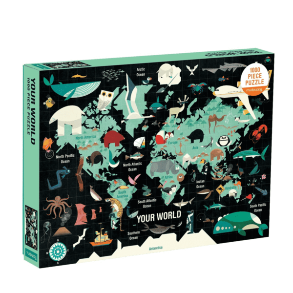 Chronicle Chronicle: Family Map of The World 1000pc Puzzle
