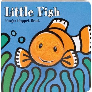 Chronicle Chronicle: Little Fish Finger Puppet Book