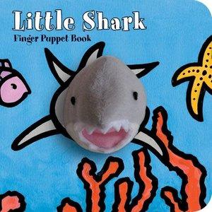 Chronicle Chronicle: Little Shark Finger Puppet Book