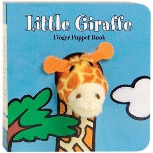 Chronicle Chronicle: Little Giraffe Finger Puppet Book