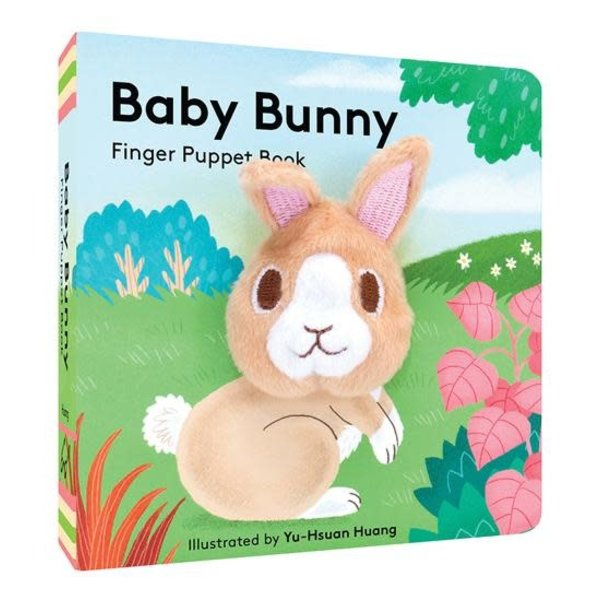 Chronicle Chronicle: Baby Bunny Finger Puppet Book