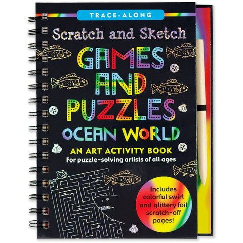 Peter Pauper: Scratch & Sketch Ocean World
