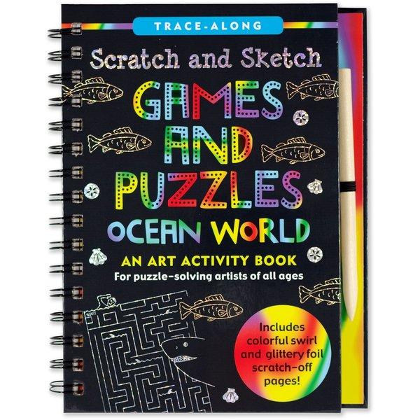 Peter Pauper Peter Pauper: Scratch & Sketch Ocean World