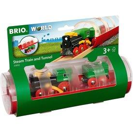 Brio Brio: Steam Train & Tunnel