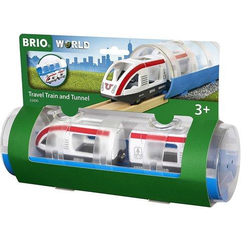 Brio: Travel Train & Tunnel