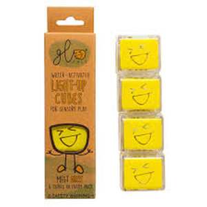 Glo Pals Glo Pals: 4pk Glo Pak Yellow