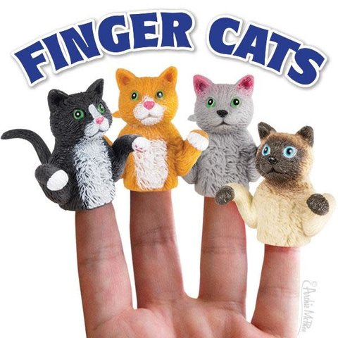 Archie McPhee: Finger Cats Finger Puppet