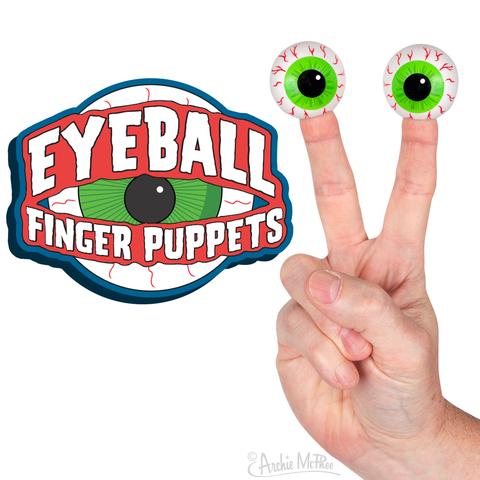 Archie McPhee: Eyeball Finger Puppet