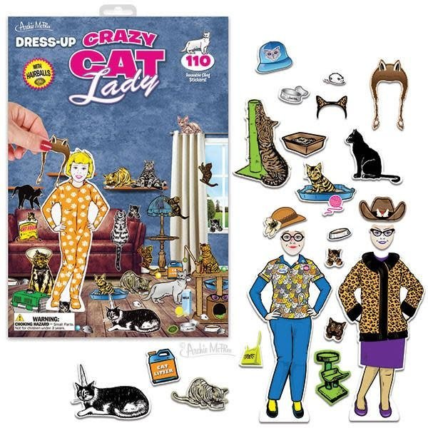 Archie McPhee Archie McPhee: Dress-Up Crazy Cat Lady