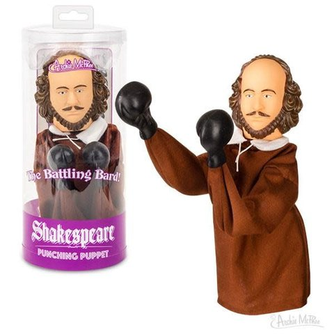 Archie McPhee: Shakespeare Punching Puppet