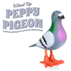 Archie McPhee: Wind-Up Peppy Pigeon (Sold Individually)