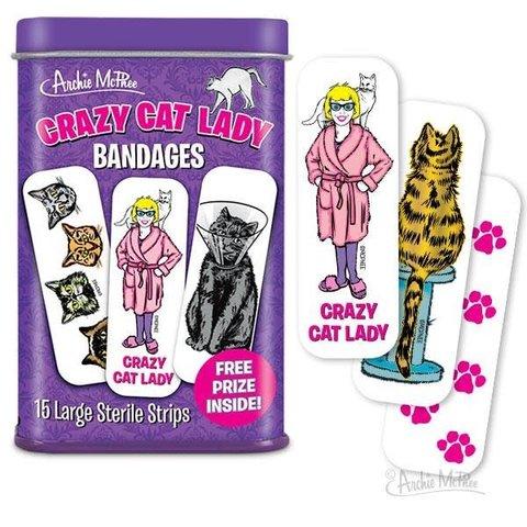Archie McPhee: Crazy Cat Lady Bandages