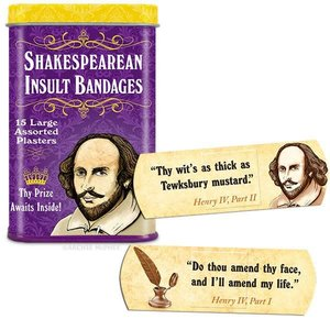 Archie McPhee Archie McPhee: Shakespearean Insult Bandages