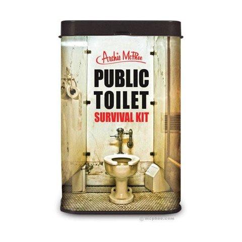 Archie McPhee: Public Toilet Survival Kit