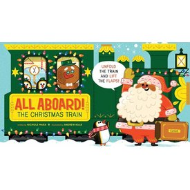 Abrams Abrams:  All Aboard! The Christmas Train (BB)