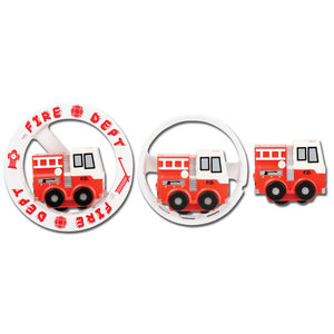 Aeromax Aeromax: Wheely Fun Rollers, Fire Engine