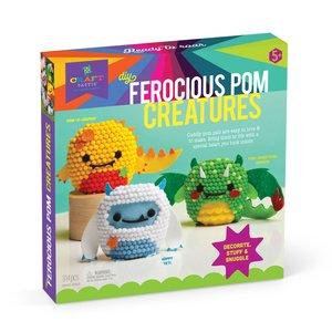 Ann Williams Ann Williams: Craft-tastic Ferocious Pom Animals