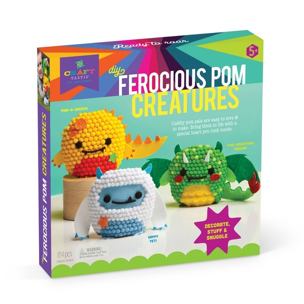 Ann Williams Ann Williams: Craft-tastic Ferocious Pom Animals