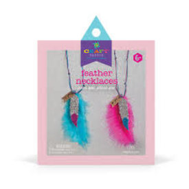 Ann Williams Ann Williams: Craft-tastic BFF Feather Necklace Kit