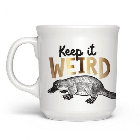 Fred's: Say Anything Mug - Keep It Weird