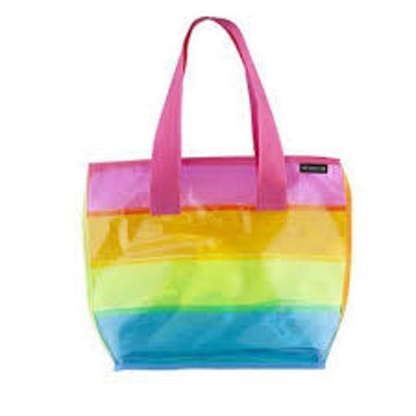 Fashion Angels Fashion Angels:  Transparent Rainbow Tote