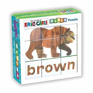 Chronicle Chronicle: Block Puzzle Brown Bear - Eric Carle