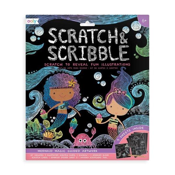 Ooly Ooly: Scratch & Scribble-Mermaid Magic