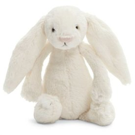 JellyCat JellyCat: Bashful Cream Bunny Small